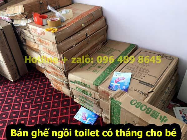 kho đựng nắp bồn cầu ngồi toilet cho trẻ em