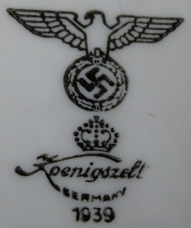 Koenigszelt 1939 porcelain factory Jaworzyna Śląska porcelana