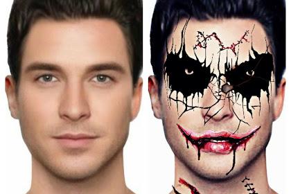 Cara Edit Foto Merubah Wajah Seperti Zombie di Picsart