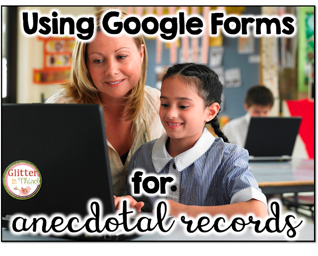Do you feel overwhelmed by anecdotal notes? I did, until I realized how much easier and more efficient that Google Forms makes taking these records on students for guided reading, math, writing, and behavior. Not only is it more efficient, but Google Forms is free! This is about to make your life SO. MUCH. EASIER. (at least it did for me :-) )
