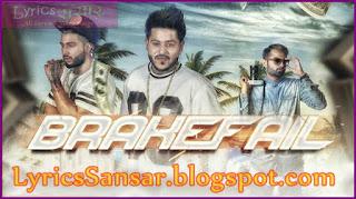 BRAKEFAIL : Harnav Brar   Sukhe Muzical Doctorz