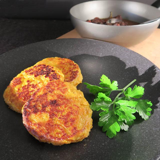 Süßkartoffelküchlein mit Kartoffelteig | pastasciutta.de