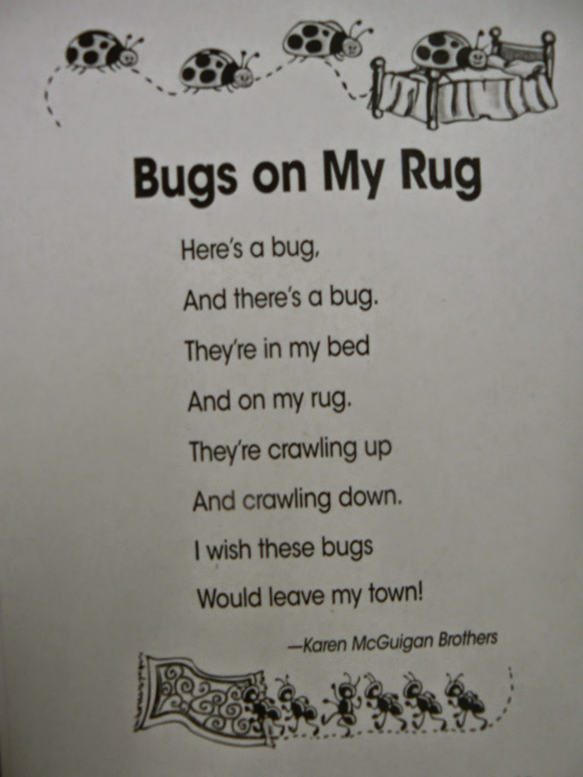 Here Are A Few Examples Of Poems We Read