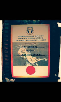 Ewaoluwa Adefioye award 2017