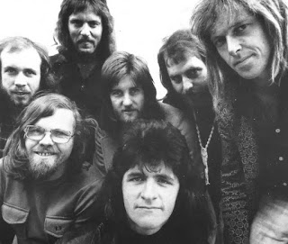 Quincy Conserve in 1973. Left to right at rear: Billy Brown, Peter Blake, Rodger Fox, Geoff Culverwell, Murray Loveridge. Front: Malcolm Hayman, Paul Clayton Credit: Murray Loveridge collection