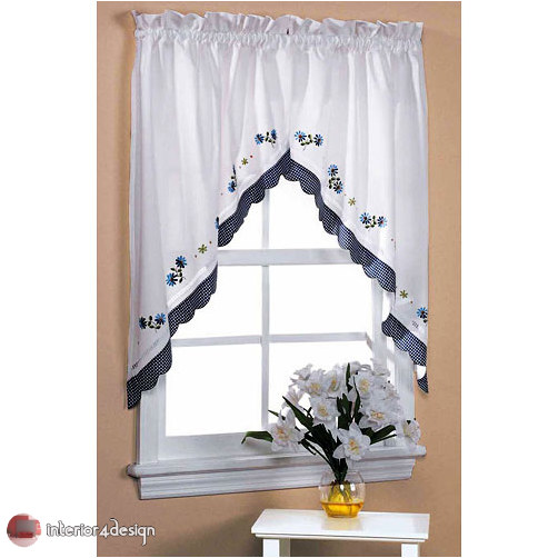 Elegant Kitchen Curtains 26