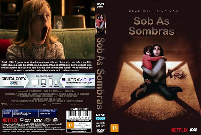 Capa DVD Sob As Sombras