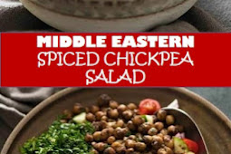 #recipe #food #drink #delicious #family #Middle #Eastern #Spiced #Chickpea #Salad