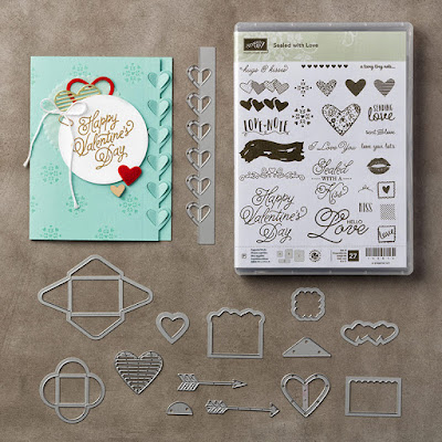 Stampin' Up! UK Independent Demonstrator Susan Simpson, Craftyduckydoodah!, Sealed with Love, Love Notes Framelits, Supplies available 24/7,