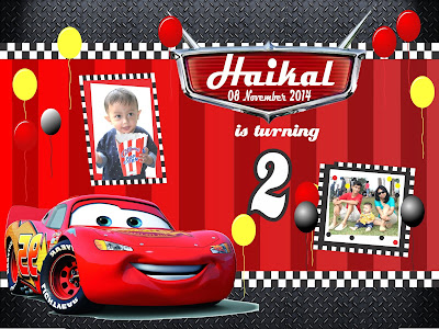 free download cars vector banner for birthday
