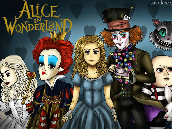 Crazy Pictures: alice in wonderland images