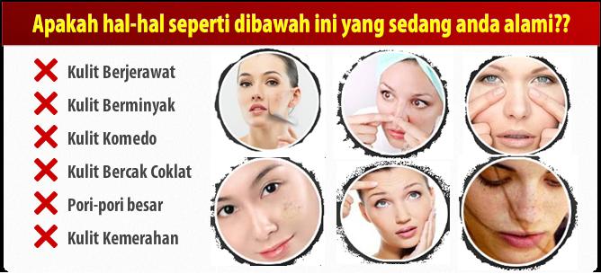 Masker Wajah Serbuk Spirulina