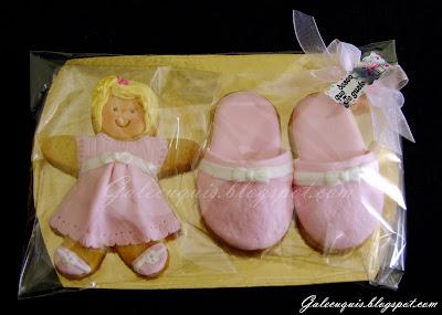 galleta muñeca embarazada