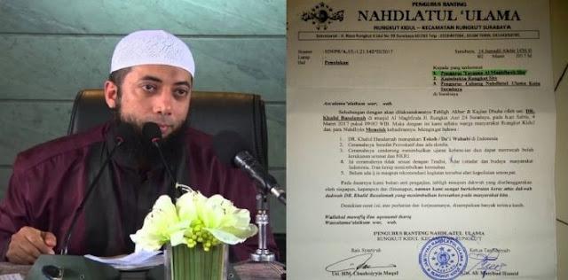 Astagfirullah, Ustadz Khalid Diusir, Netizen: Nggak Sekalian Raja Wahabi Diusir?