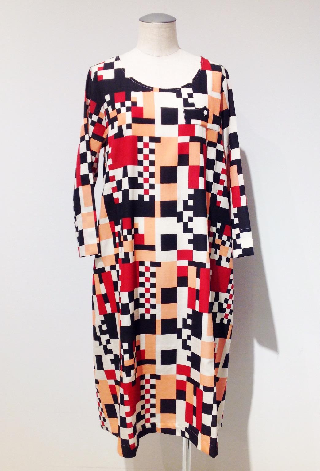 mintdesigns【ミントデザインズ】LEGO PRINT DRESS◆香川・綾川店