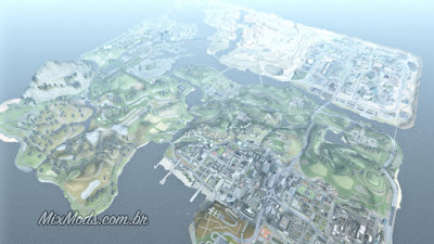 gta sa san andreas mod full map ver mapa completo project2dfx