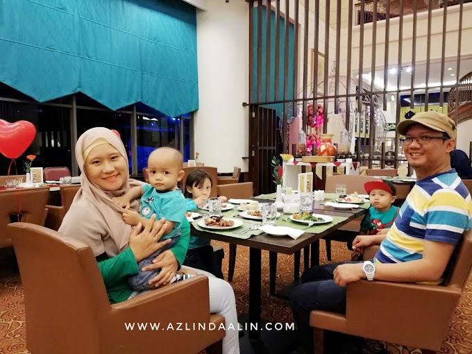 BBQ Buffet Dinner di Grand BlueWave Hotel Shah Alam Bersama Keluarga !