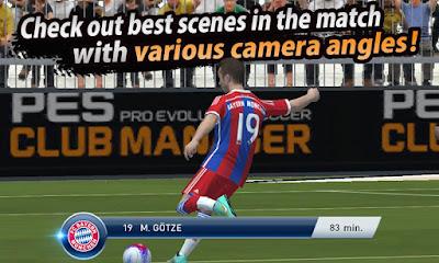 PES Club Manager Mod APK2