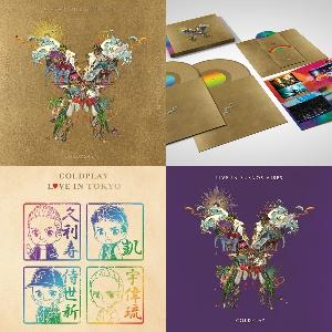 コールドプレイのライブDVD/CD+日本限定ライブ盤 12/7発売!