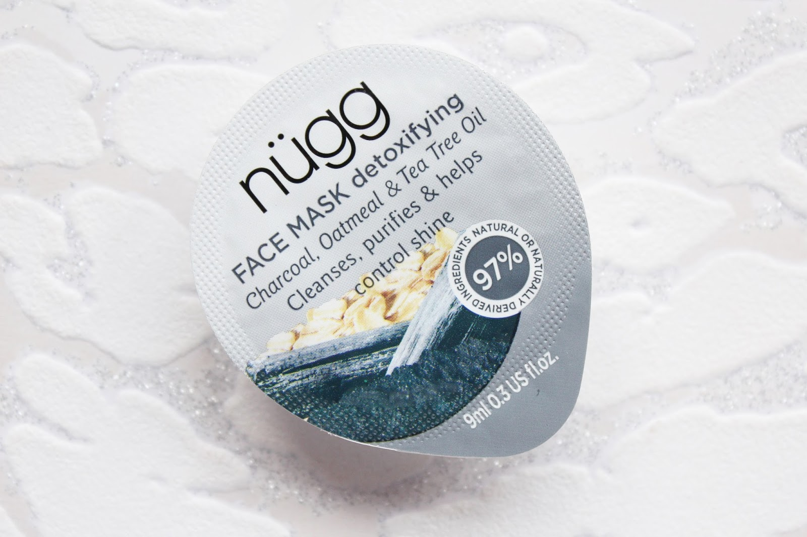 Nugg Charcoal Detoxifying Face Mask