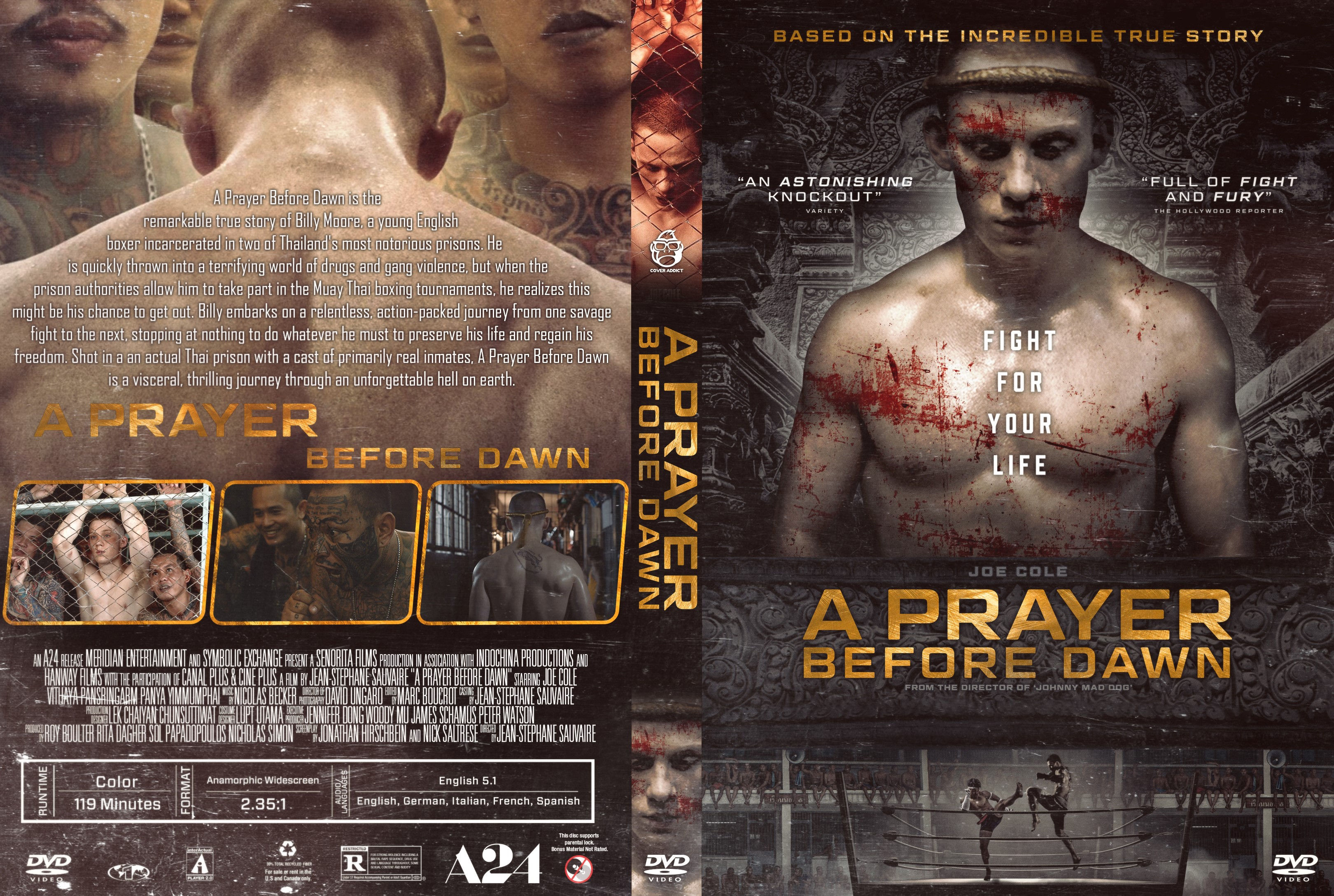 300 Full Movie >> A Prayer Before Dawn DVD Cover - Cover Addict - DVD and Bluray Covers
