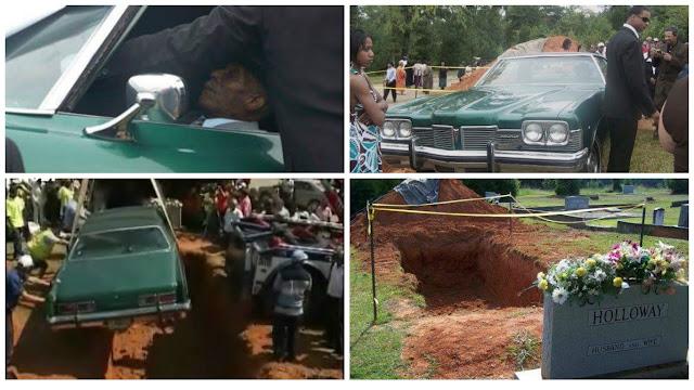 Photos: Black Man Buried In His Pontiac Cadillac Car In Saluda South CarolinaNaijaGistsBlog ...