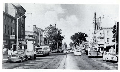 Looking south down Broad Street, Woodbury, New Jersey