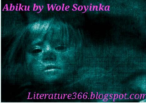 abiku by wole soyinka summary
