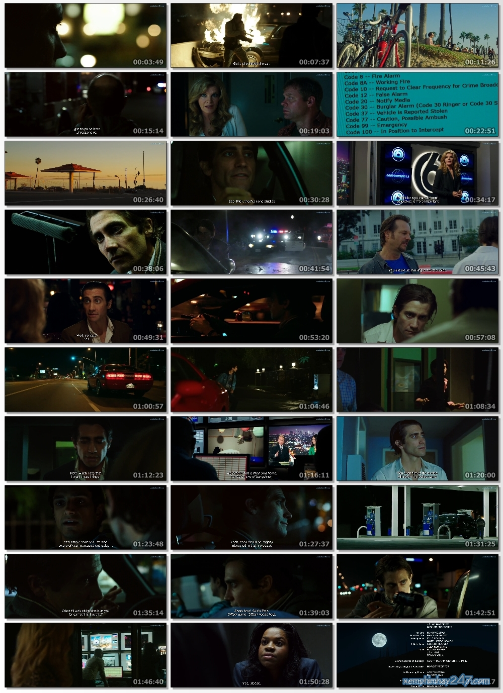 http://xemphimhay247.com - Xem phim hay 247 - Kẻ Săn Tin Đen (2014) - Nightcrawler (2014)