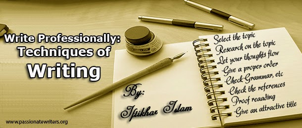 history of professional writing