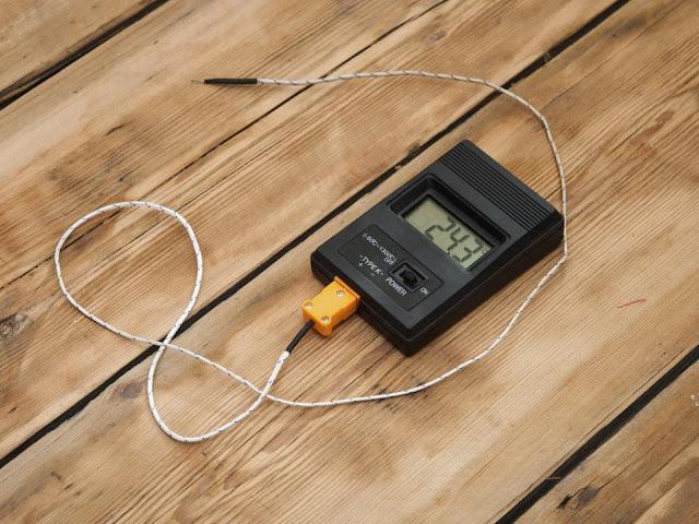 Waterproof Digital Probe Thermometer