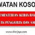 Jawatan Kosong di Kementerian Kerja Raya & Jabatan Pengairan dan Saliran Malaysia