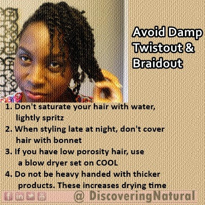 Braidout Natural Hair