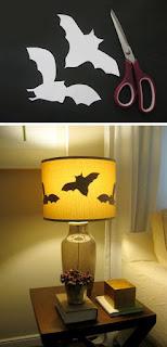 decorazione halloween pipistrelli immagine
