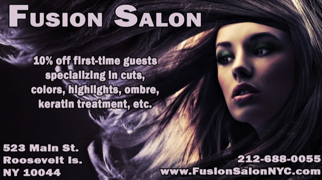Roosevelt Island Fusion Salon, Exceptional Hair Care Services