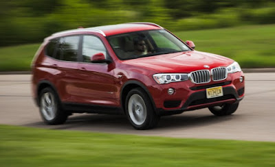 Red color Next-Gen 2016 BMW X3 Hd Photo Album