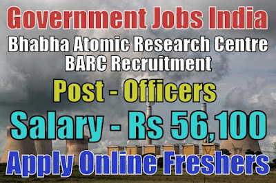 BARC Recruitment 2019