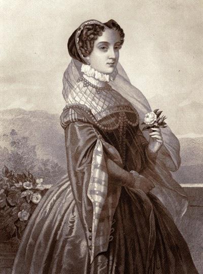 María Estuardo, grabado de 1885