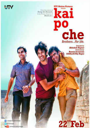 Kai Po Che 2013 Full Hindi Movie Download Free In  720p