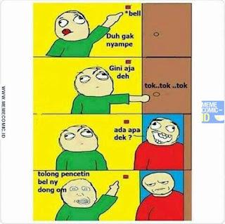 Meme Comic Indonesia terbaru Lucu