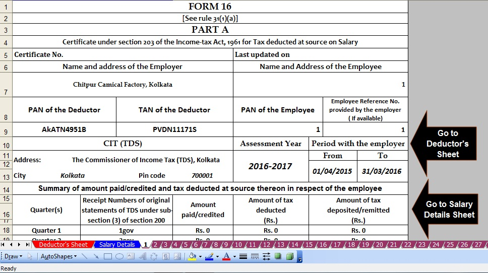 ITR Forms - Download Recent Income Tax Return Forms - ITR One ITR ...