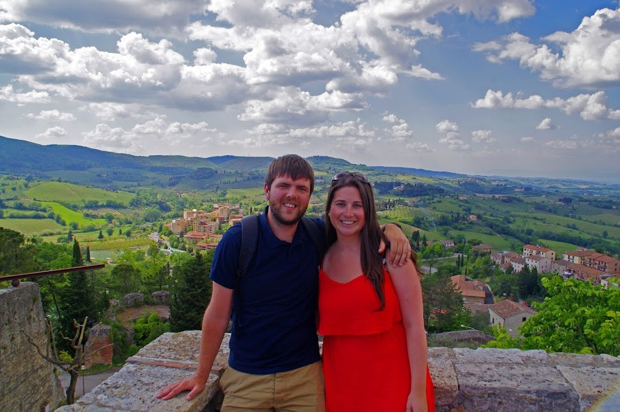 Couple in Florence Tuscany