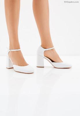 Zapatos de Mujer Blancos