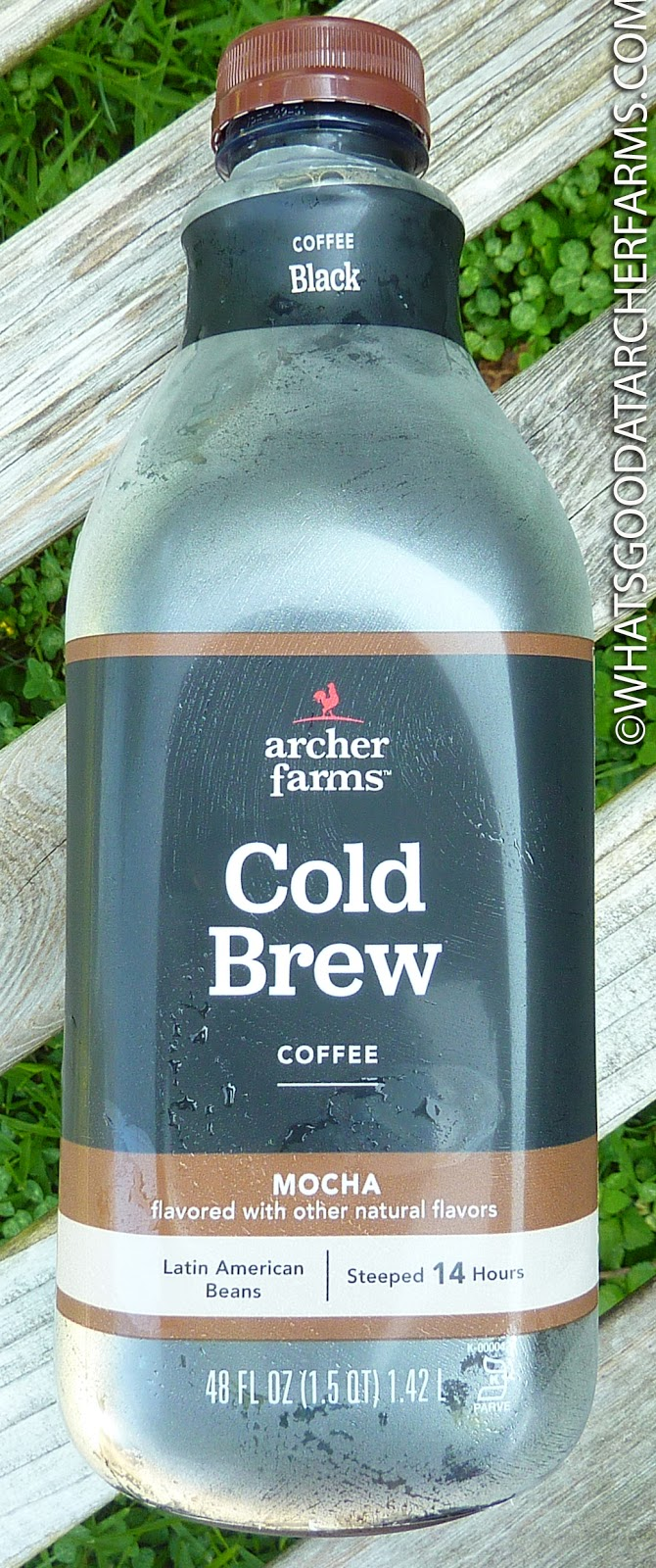 54b860173 What's Good at Archer Farms?: Archer Farms Mocha Cold Brew Coffee