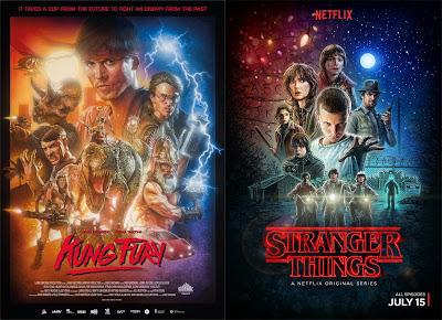 Pósters de películas Stranger Things - Kung Fury