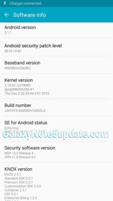 GalaxyNote5Update: Galaxy Note5 SM-N920I Update