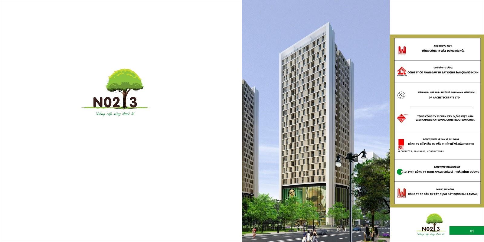 Giới thiệu chung cư N02T3 khu đô thị Ngoại Giao Đoàn
