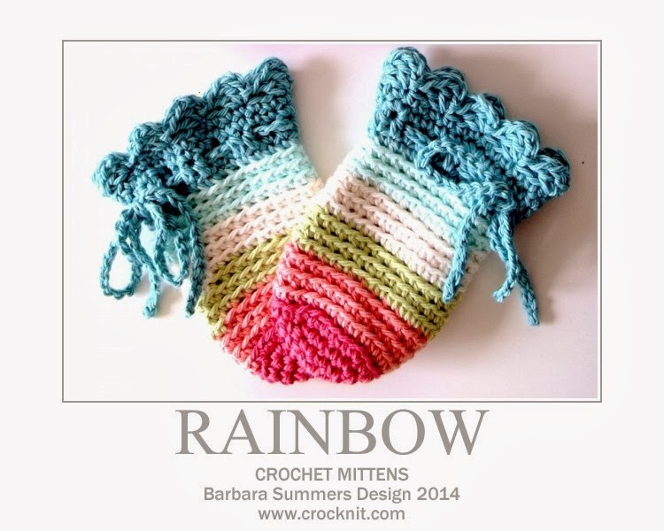 crochet patterns, mittens, baby, newborn,