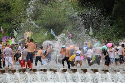 Año Nuevo de Tailandia Songkran