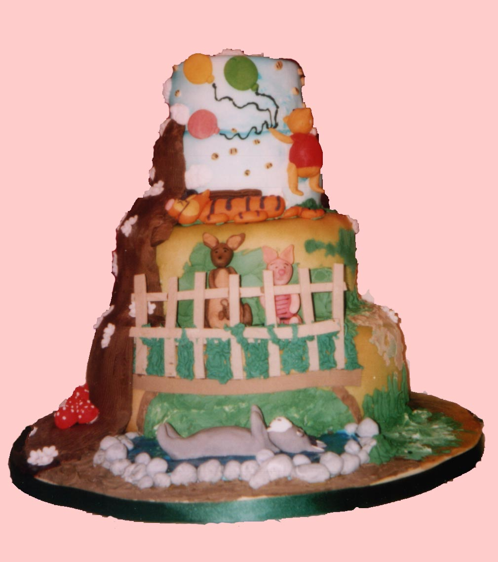 Winnie The Pooh Wedding Reading: Winnie The Pooh Wedding Cakes Decoration Ideas